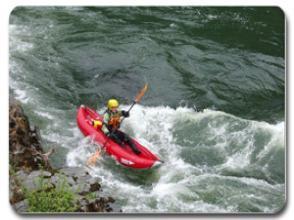 White Water Rafting Inflatable Kayaks