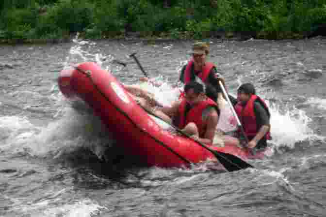 Lehigh River Water Release 104